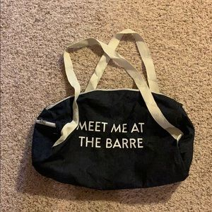 Handbags - Adorable Gym Bag (with a dance/gymnastics pun)!